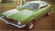 HOLDEN TORANA 1972-74 LJ INC XU1 PARTS CATALOG