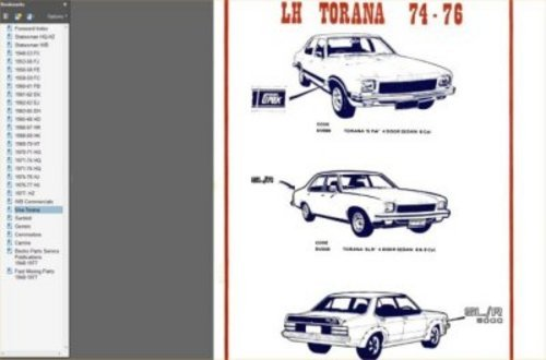 Product picture GMH IDENTIFICATION GUIDE 1948-1987 HOLDEN MONARO GTS TORANA